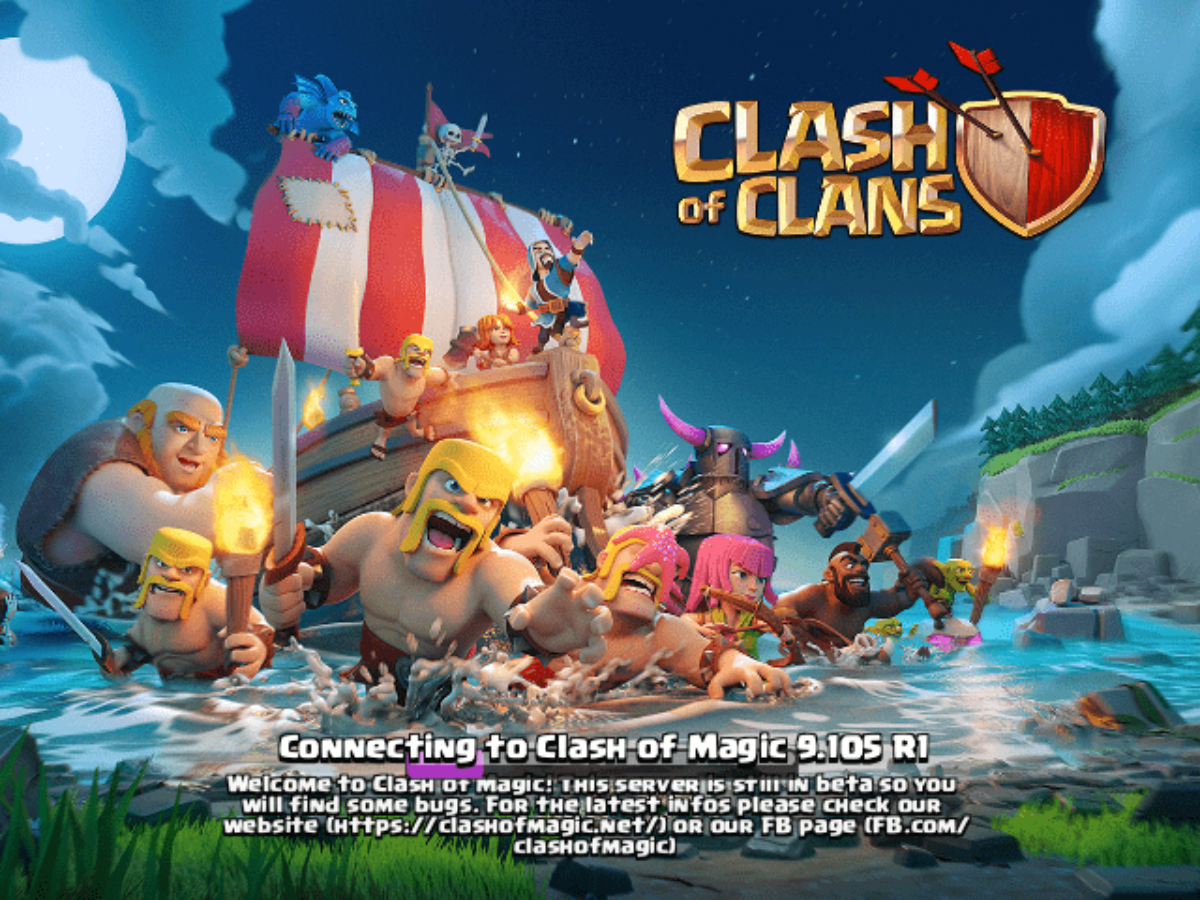 Clash Of Magic 2020 Coc Private Server Mod Apk Latest V13 0 R2
